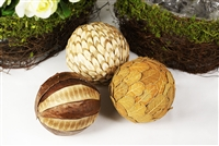 Twig Rustic Natural Balls Easter Decoration Christmas Tree Ornament