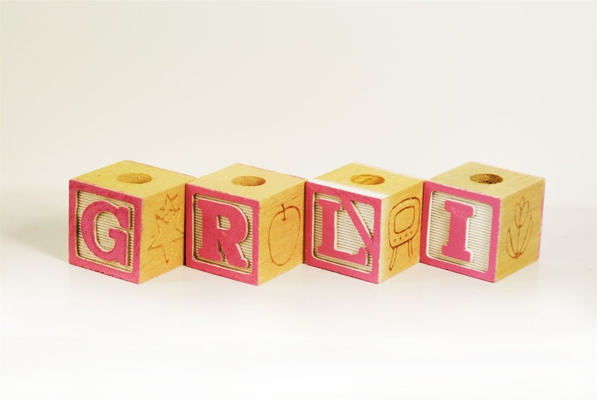 Best Decorative Baby Wood Blocks Baby Shower Decoration Baby Girl Pink  LK38