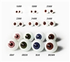Top Quality MADE IN JAPAN Glastic Realistic Doll Eyes Eyeball Craft Life Like
