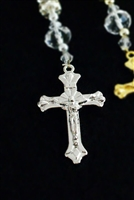 Silver Plated Cross Pendant Charm Jesus Christ Party Favor Finding