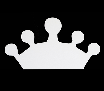 Foam Crown for Crafts Party Signs Walls Buildings 1pc