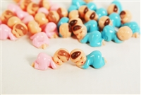 "1"" Sleeping Babies Baby Shower Favor Decor Party Decorations Pink / Blue / 12pcs"