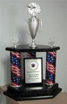 Three Column Trophy