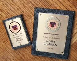 NAL Plaque-- In Six Sizes!