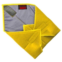 "DOMKE 11X11"" YELLOW WRAP"