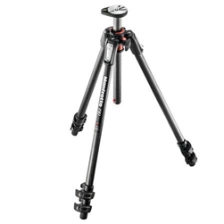 MANFROTTO MT190CXPRO3 CARBON FIBER 3-SECTION TRIPOD