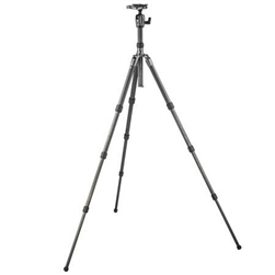 GITZO SERIES 2 GK2580TQD CARBON 4-SECTION TRAVELER TRIPOD KIT