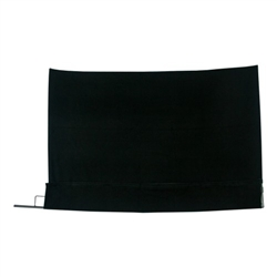 SCRIM FAST FLAGS 18X24 BLACK BLOCK