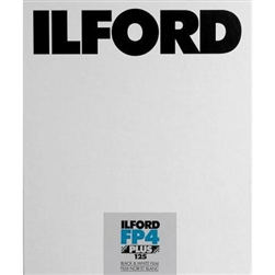 "ILFORD FP4 8X10"" (25 SHEETS)"