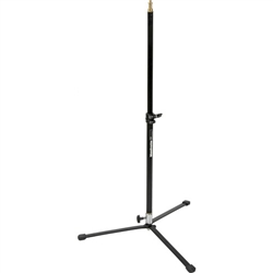 BOGEN BACKLITE STAND AND POLE BLACKc