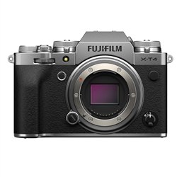 Fujifilm X-T4 Mirrorless Digital Camera, Silver