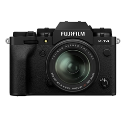 Fujifilm X-T4 Camera w/ 18-55mm Lens, Black