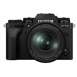 Fujifilm X-T4 Camera w/ 16-80mm Lens, Black