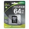 Fujifilm 64GB UHS-II Elite II Performance U3 Class 10 SDXC Card, 285MB/s Transfer Speed