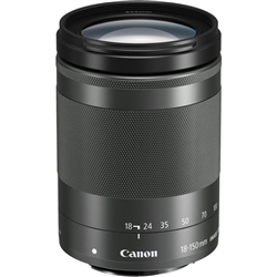 Canon EF-M 18-150 f/3.5-5.6 IS STM Lens (Graphite)