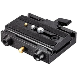 MANFROTTO VIDEO QUICK RELEASE ADAPTER WITH PLATE