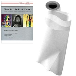 "Hahnemühle Photo Rag® Bright White 310gsm 17""X39'"