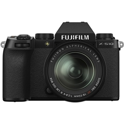 Fujifilm X-S10 with XF 18-55mm F/2.8-4 R Lens Kit