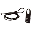 "GEAR GUARD 36"" CABLE WITH COMBINATION LOCK"