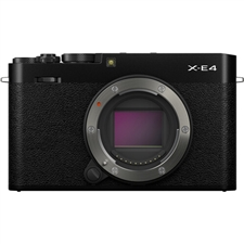 Fujifilm X-E4 Body, Black