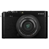 Fujifilm X-E4 Body with XF27mm F2.8 R WR Lens Kit, Black