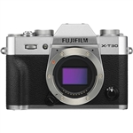 Fujifilm X-T30 Mirrorless Digital Camera (Silver)