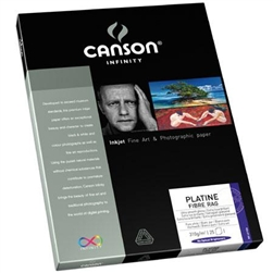 CANSON PLATINE FIBER RAG 8.5X11 (10 SHEETS)