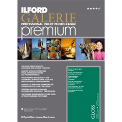 "ILFORD GALERIE PREMIUM GLOSS 8.5X11"" (250 SHEETS)"