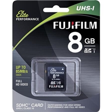 Fujifilm Digital 8GB UHS-I SDHC Elite Performance