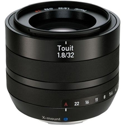 ZEISS 32MM F/1.8 TOUIT LENS FOR FUJIFILM X MOUNT