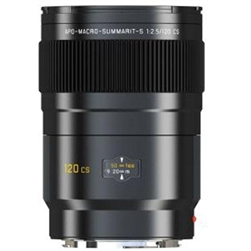 LEICA SUMMARIT-S 120MM F/2.5 CS ASPHERICAL APO MACRO LENS