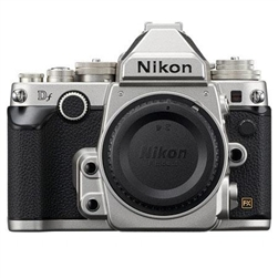 NIKON DF DSLR CAMERA BODY (SILVER)