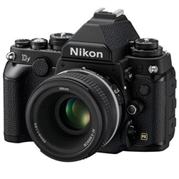 NIKON DF DSLR CAMERA BODY WITH AF-S NIKKOR 50MM F/1.8G SPECIAL EDITION LENS (BLACK)
