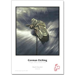 "HAHNEMUHLE MATTE GERMAN ETCHING 17X22"" (20 SHEETS)"