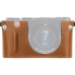 LEICA VARIO X CAMERA PROTECTOR (COGNAC LEATHER)