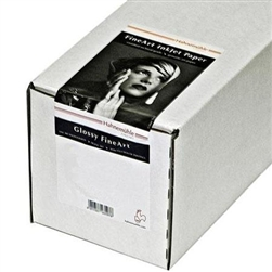 "HAHNEMUHLE PEARL PHOTO RAG 17""x39' ROLL"