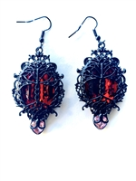 VICTORIAN TREE OF LIFE EARRINGS