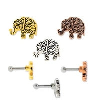 BINDI ELEPHANT EAR BARBELL