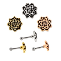 MANDALA EAR BARBELL