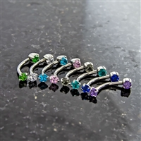 16G STEEL FRONT FACING GEM CURVE