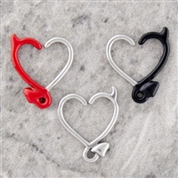16G ANNEALED HEART DEVIL TAIL DAITH RING