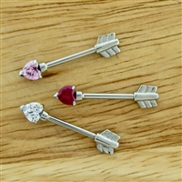 GEM ARROW NIPPLE BARBELL