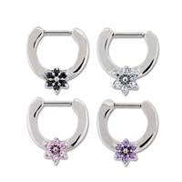 16G FLOWER SEPTUM CLICKER