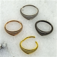 POINTED TRIBAL SEPTUM CLICKER