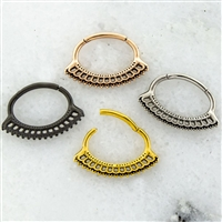 FILIGREE SEPTUM CLICKER