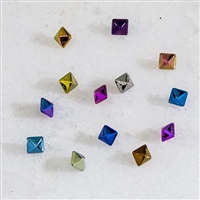 14G & 16G/18G TITANIUM PYRAMID STUD REPLACEMENT HEAD