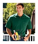 436 - JERZEES Men's Adult Jersey Pocket Polo with SpotShield