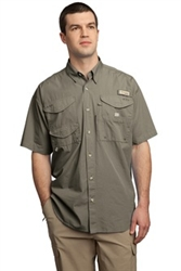 FM7130-Columbia Short Sleeve Bonehead Fishing Shirt