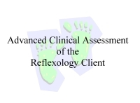 Advanced Clinical Assessment of the Reflexology Client