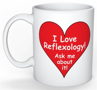 I Love Reflexology Mug - 11oz.